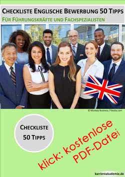 Cover Letter Englisches Anschreiben 25 Tipps