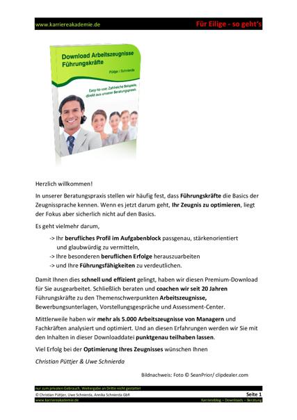 4 X Arbeitszeugnis Geschäftsführer Vertrieb Head Of Sales Mw