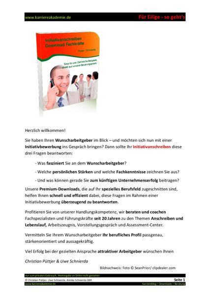 4 x initiativanschreiben softwareentwickler programmierer mw - Lebenslauf Softwareentwickler