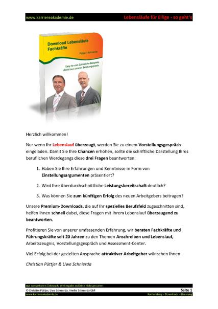 3 X Lebenslauf Immobilienkaufmann Immobilienkauffrau