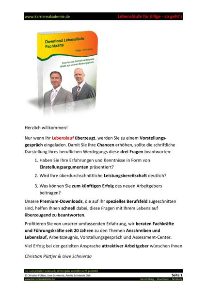 Berühmt Lebenslauf Für Kfz Mechaniker Bilder - Dokumentationsvorlage ...
