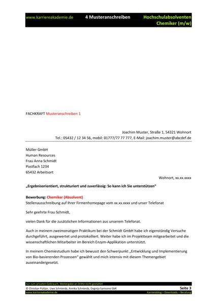 6 x praktikumszeugnis muster chemie - Praktikumszeugnis Muster