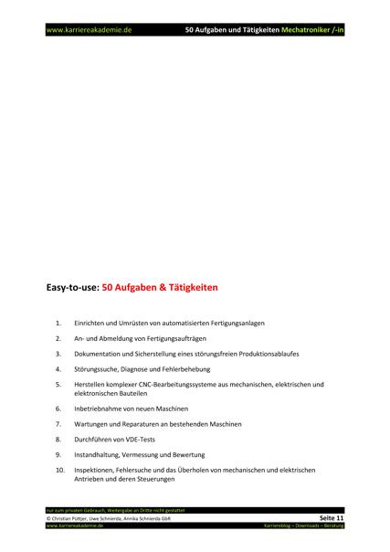 Erfreut Mechaniker Lebenslauf Ziel Galerie - Beispielzusammenfassung ...