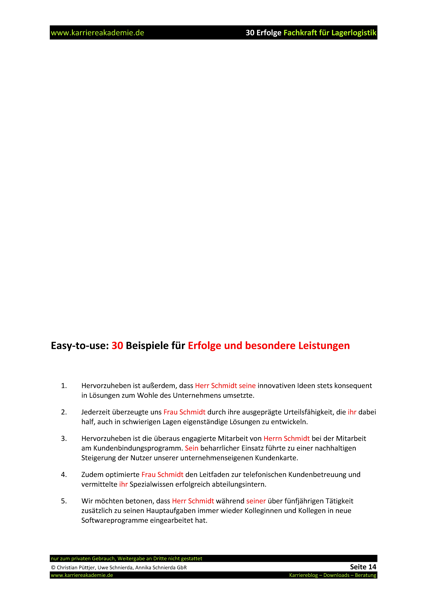 4 x arbeitszeugnis fachkraft fr lagerlogistik - Fachkraft Fur Lagerlogistik Bewerbung