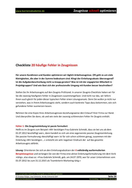 4 x Arbeitszeugnis: Systemadministrator (m/w) | Karriereakademie