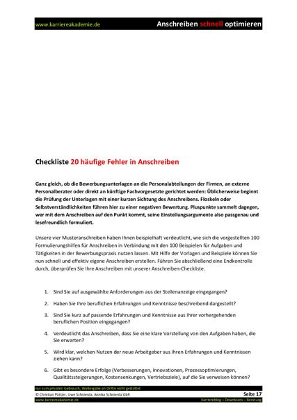 4 x Anschreiben SAP Berater Consultant | Karriereakademie