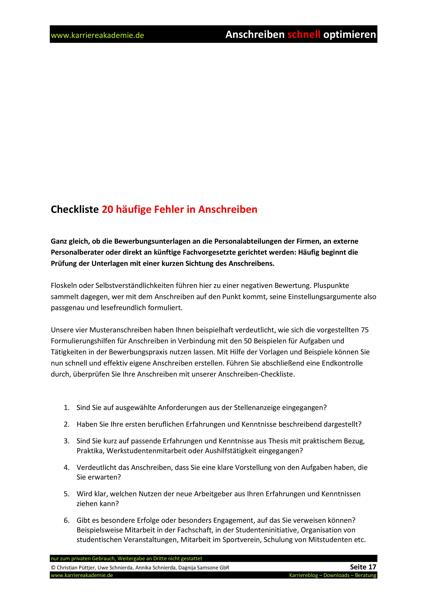 4 X Anschreiben Absolvent Controlling Finanz Und Rechnungswesen M