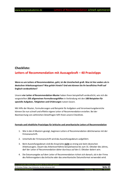 finance manager 4 letters of recommendation 305
