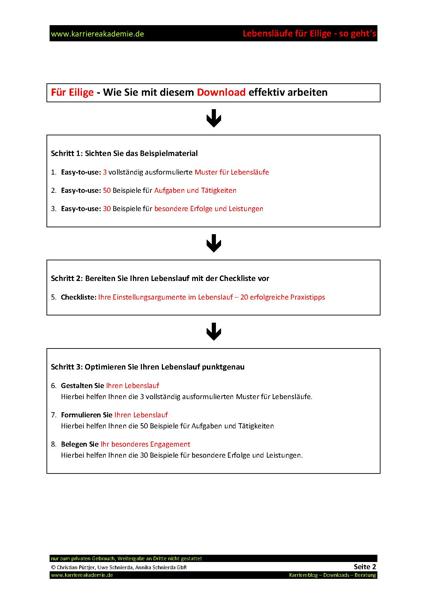 3 x Lebenslauf Kaufmann Kauffrau Bürokommunikation   Karriereakademie