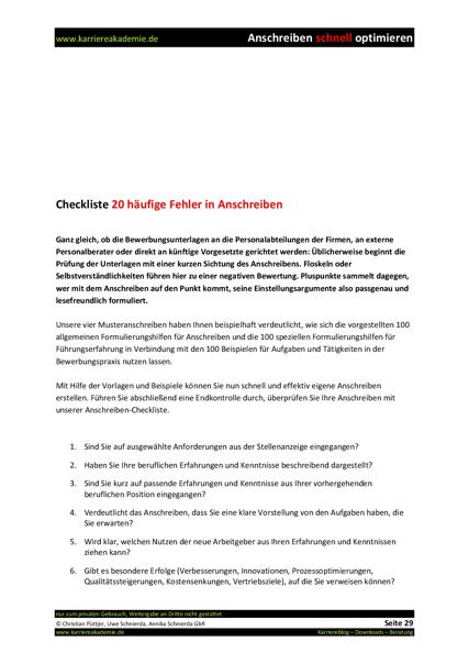 4 x Anschreiben: Teamleiter IT (m/w) | Karriereakademie